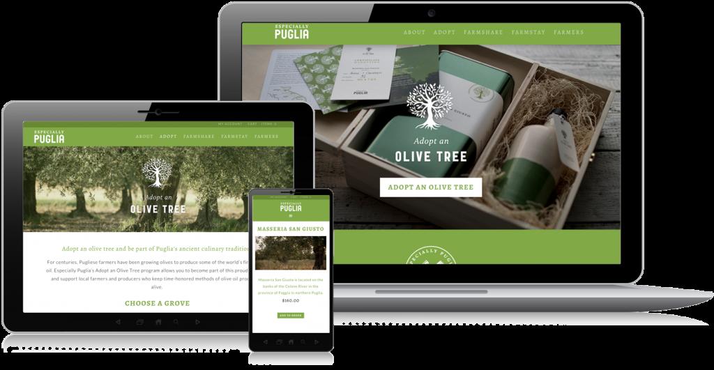 Especially Puglia Web Design