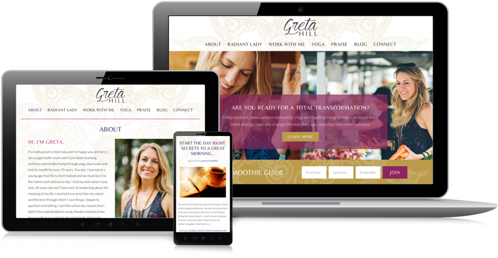 Greta Hill Web Design