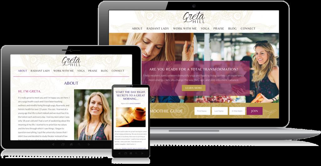 Greta Hill Web Design