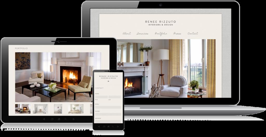 Renee Rizzuto Website Design